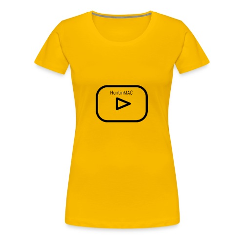 HuntinMAC logo - Women's Premium T-Shirt