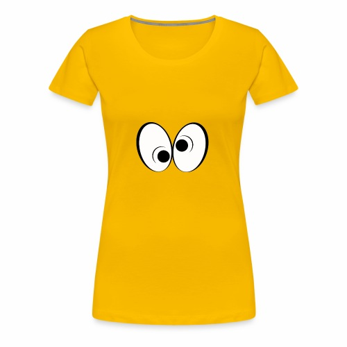 Eye Design 1 - Women's Premium T-Shirt