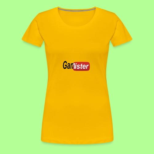 gamister_shirt_design_6 - Women's Premium T-Shirt