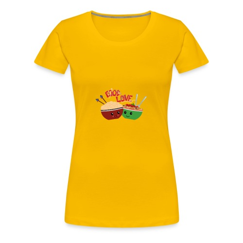 Food Love - Women's Premium T-Shirt