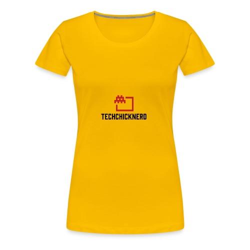 TechChick-Nerd logo #1 - Women's Premium T-Shirt