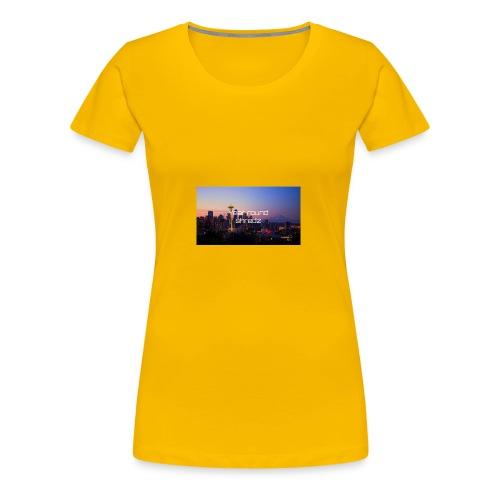gym hoodie - Women's Premium T-Shirt