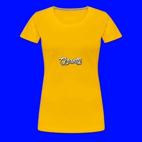 Official Logo of Granty - Women's Premium T-Shirt