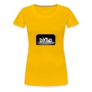 Dyso Platinum design - Women's Premium T-Shirt