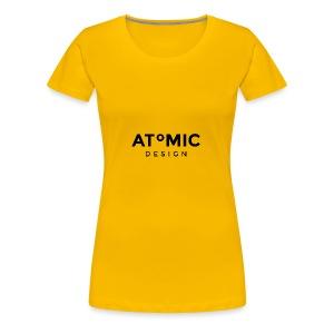 Atomic Design Brand Logo - Women's Premium T-Shirt
