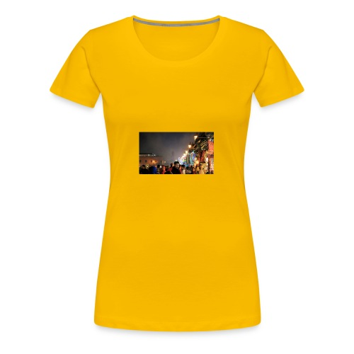 Marrakech at Night - Women's Premium T-Shirt