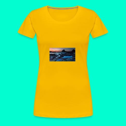 the best design - Women's Premium T-Shirt