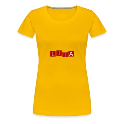 LITA Logo - Women's Premium T-Shirt
