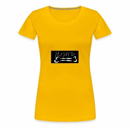 Hustle Bone Logo - Women's Premium T-Shirt