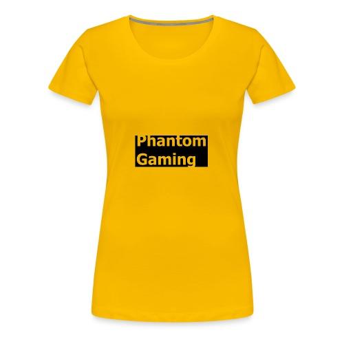 Phantom Shirt No.4   New Logo Design - Women's Premium T-Shirt
