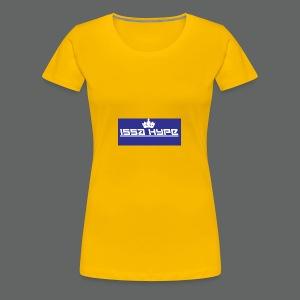 issahype_blue - Women's Premium T-Shirt