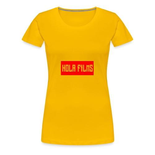 OfficialHolaDesign1 - Women's Premium T-Shirt