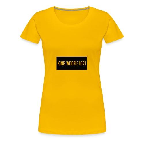 Woofie Logo - Women's Premium T-Shirt