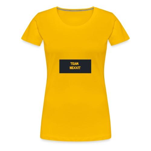 Team Nexxit Logo - Women's Premium T-Shirt