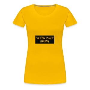 caleb's first shirt - Women's Premium T-Shirt