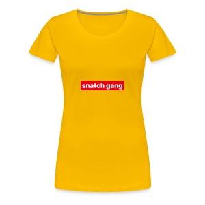 Snatch Gang Merch - Women's Premium T-Shirt