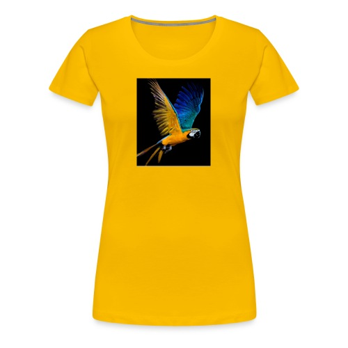 t-shirt clothes rack, parrot ,lory papagaio - Women's Premium T-Shirt