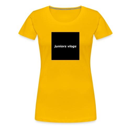 Juniors vlogs clothing - Women's Premium T-Shirt