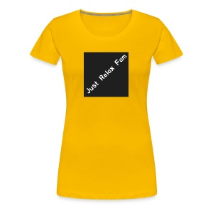 Just Relax Fam Logo - Women's Premium T-Shirt