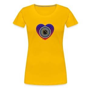Heart Of Drums Logo - Women's Premium T-Shirt