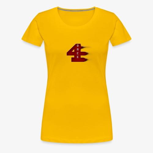 4orce (Red) - Women's Premium T-Shirt