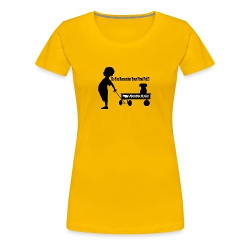 Kid Trailer - Women's Premium T-Shirt