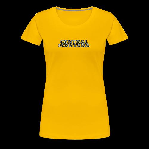 Central Montana - Women's Premium T-Shirt