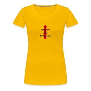 requests and dedications - Women's Premium T-Shirt