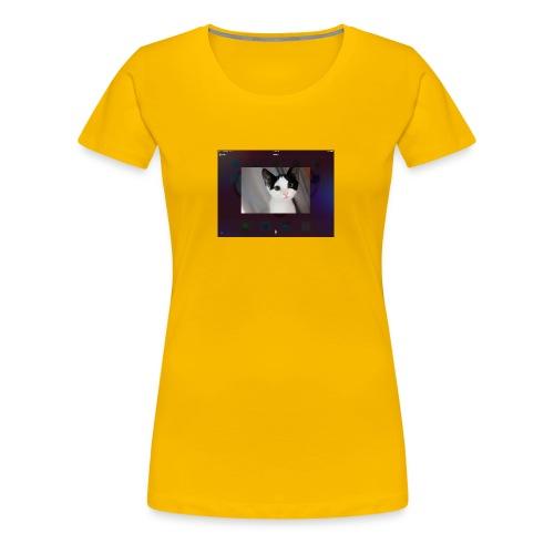 Tineey cat - Women's Premium T-Shirt