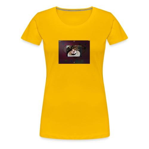 Donuts cat - Women's Premium T-Shirt