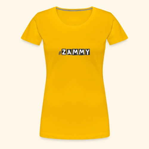 Zammy - Women's Premium T-Shirt