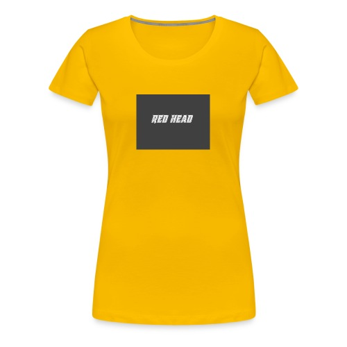 redheadmerch - Women's Premium T-Shirt