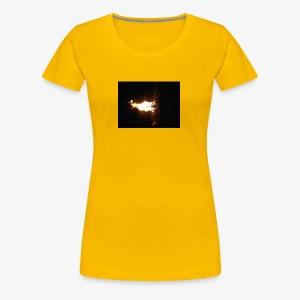 Fire - Women's Premium T-Shirt