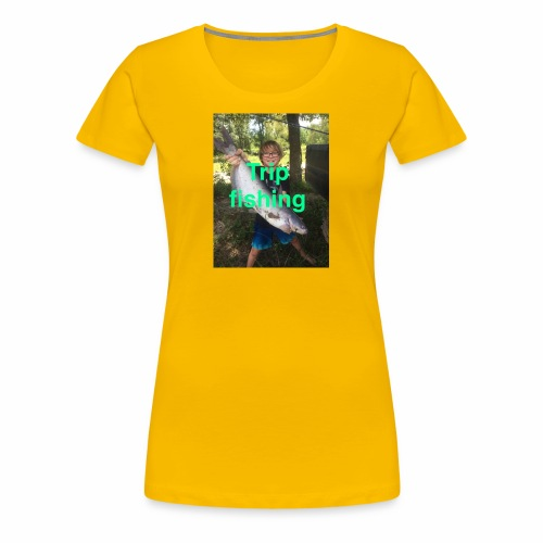 Fishing merch - Women's Premium T-Shirt