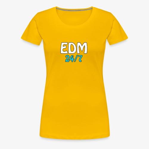 EDM 24/7 - Women's Premium T-Shirt