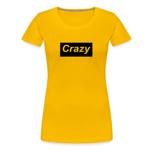 Crazy logo - Women's Premium T-Shirt