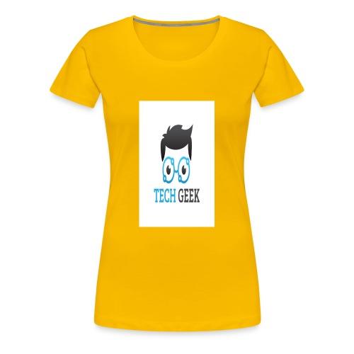 TECH-GEEK T-SHIRT - Women's Premium T-Shirt