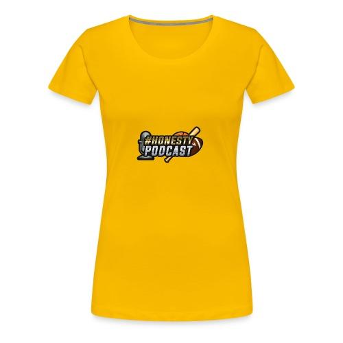 Honesty Podcast Logo - Women's Premium T-Shirt