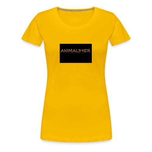 Animal39er with link - Women's Premium T-Shirt