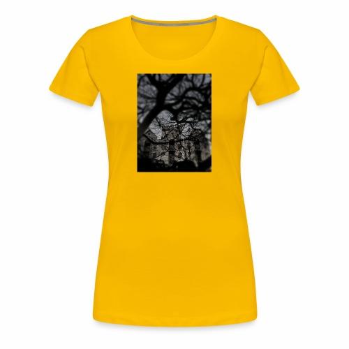 Haunted? Nah - Women's Premium T-Shirt
