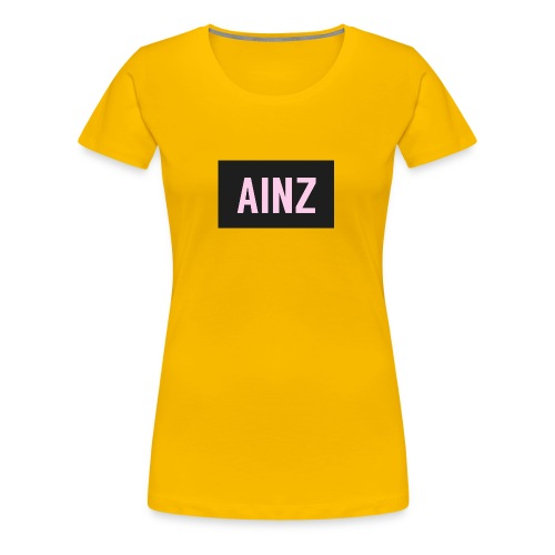Ainz merch - Women's Premium T-Shirt