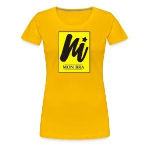 monibra logo - Women's Premium T-Shirt