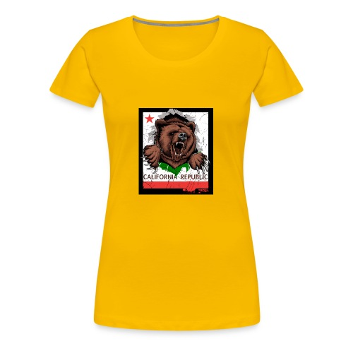 California Bear - Women's Premium T-Shirt