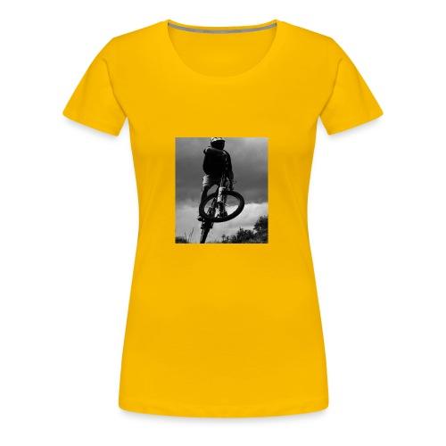 DOWNHILL. - Women's Premium T-Shirt