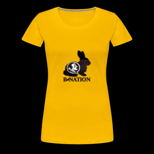FSU Bunny - Women's Premium T-Shirt