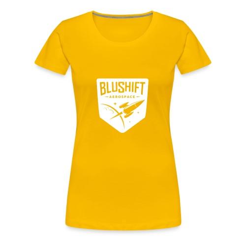 BluShift Logo - Women's Premium T-Shirt
