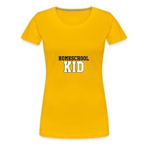 homeschoolkid - Women's Premium T-Shirt