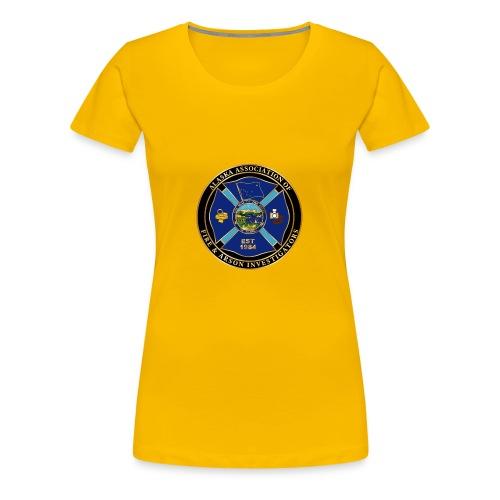 Alaska Association of Fire and arson investigators - Women's Premium T-Shirt