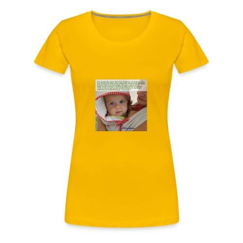 Liedlof - Pura Bebo Baby wearing - Octopus - Women's Premium T-Shirt
