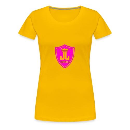DJ Junko Pink Logo - Women's Premium T-Shirt